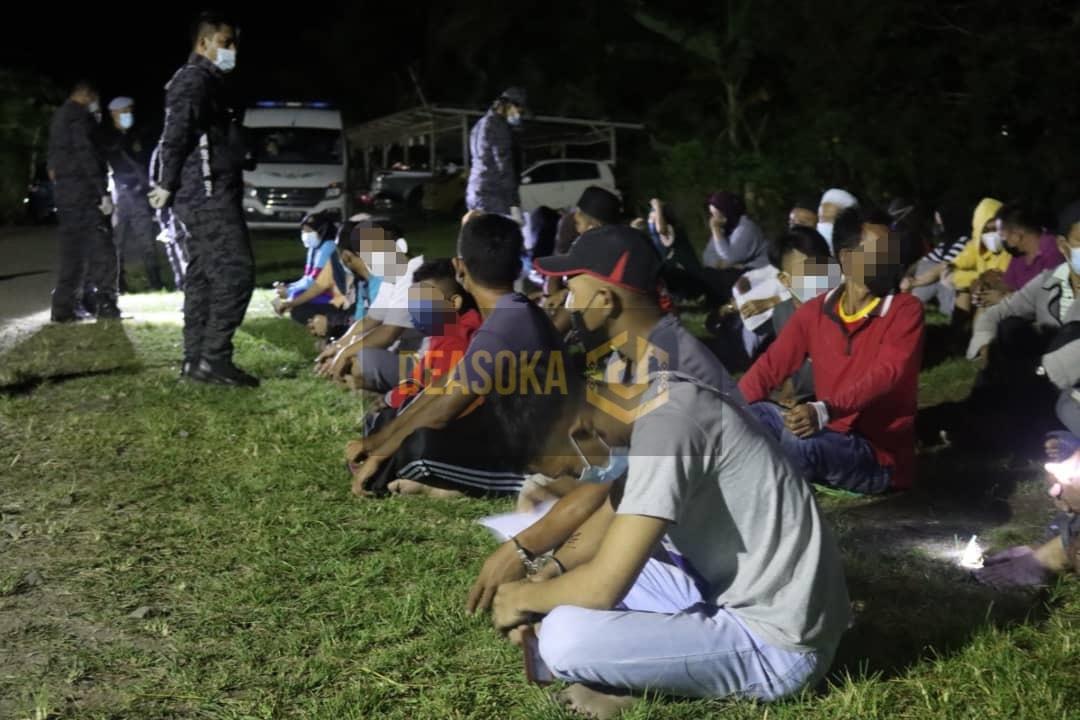JIM Sabah tahan 155 PATI di Tawau