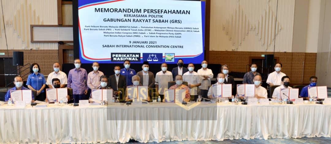 GRS tidak tergugat, sokongan UMNO Sabah masih kental