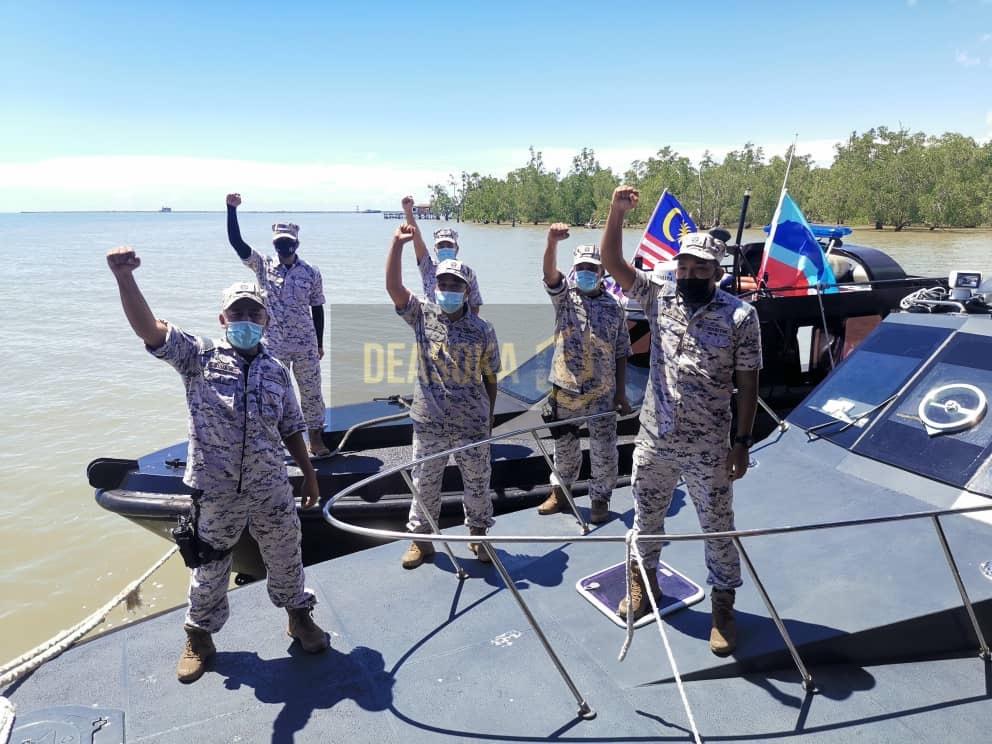 Komuniti laut semarakan Sambutan Hari Kebangsaan bersama APMM