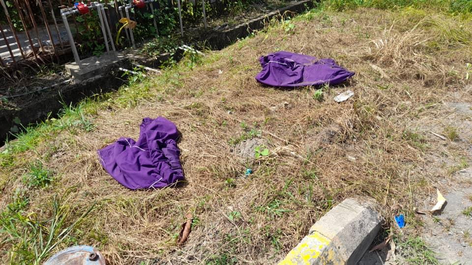 Dua pasang seluar suspek positif Covid-19 ditemui