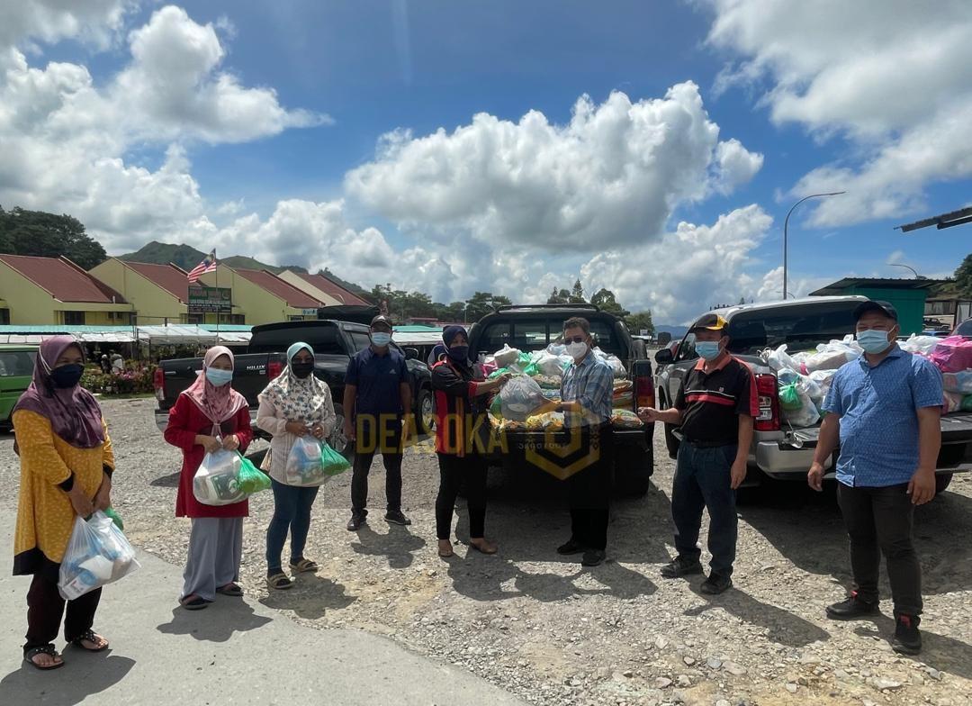 3,100 ketua isi rumah di Kundasang terima bantuan bakul makanan