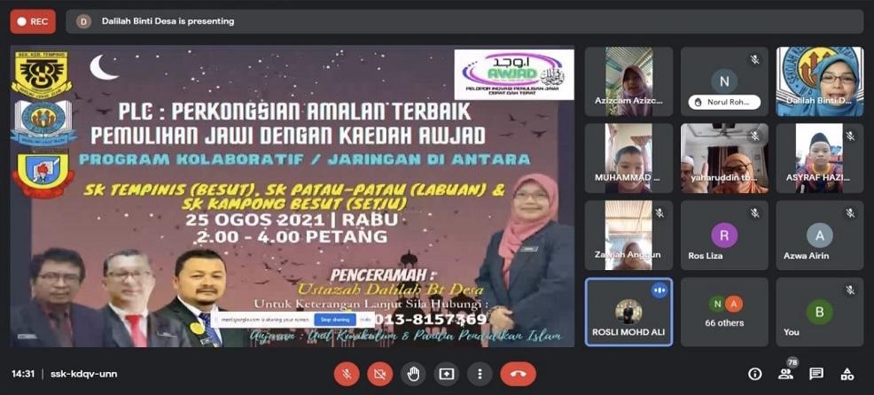 SK Patau-Patau berkongsi ilmu pengajaran Jawi