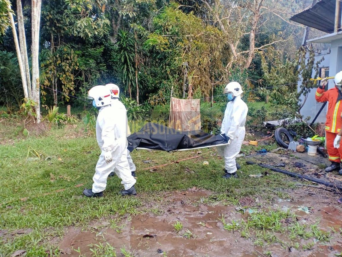 Lelaki ditemui maut akibat lemas terhidu asap