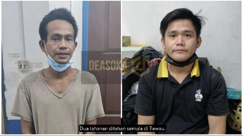 Dua tahanan melarikan diri dari PKRC ditahan semula