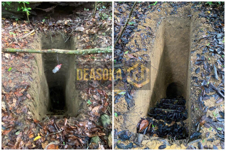 Ratusan lubang dan terowong, bongkar perlombongan emas haram