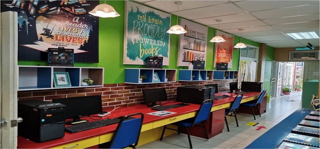SMK Rancha-Rancha johan Pertandingan Perpustakaan Sekolah Menengah Labuan