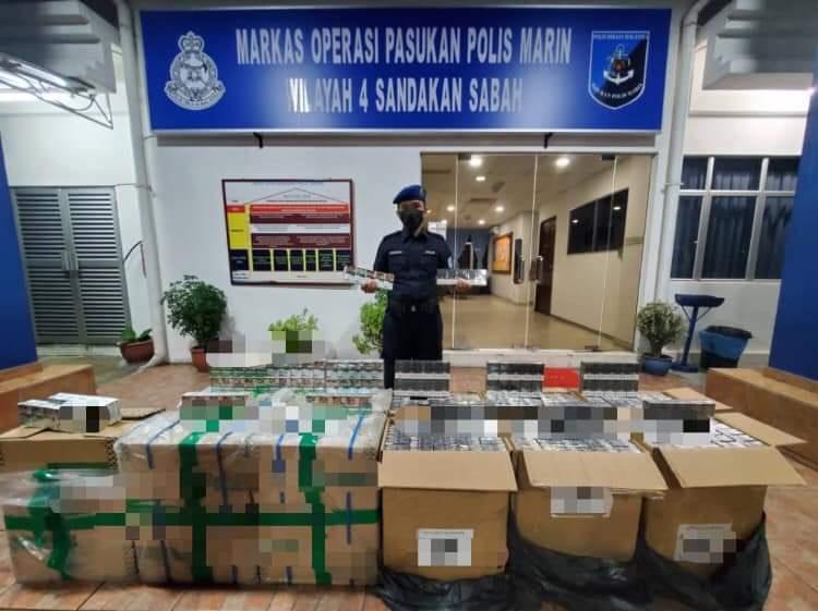 Rokok tanpa cukai bernilai RM82,350 dirampas