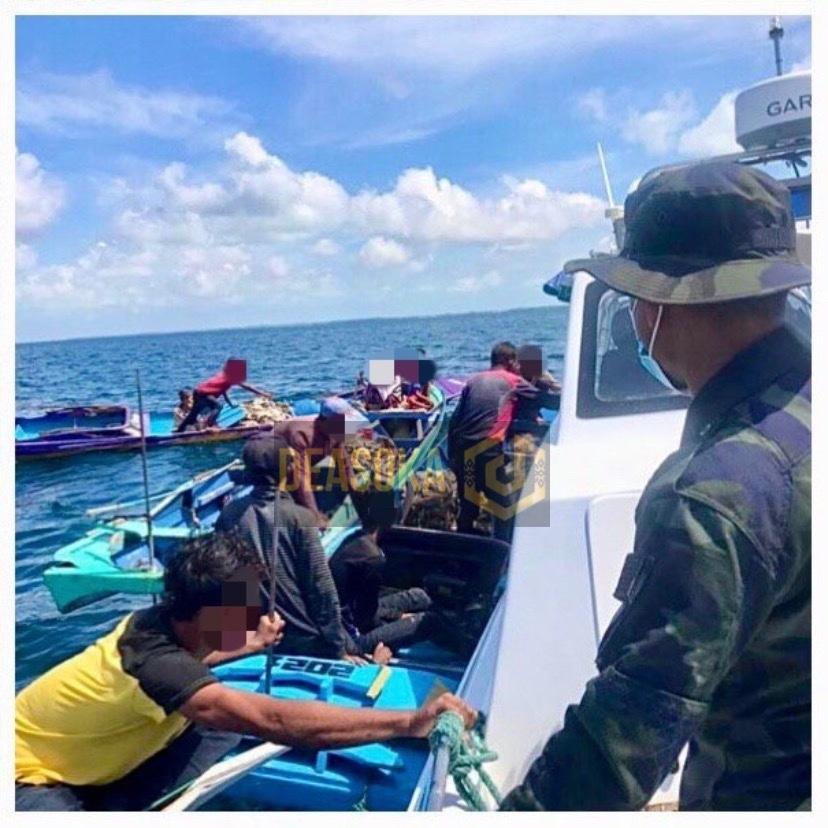 PGA halau 21 warga Filipina cuba masuk Sabah