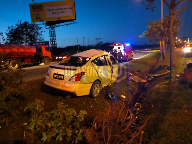 Pegawai polis maut dalam kemalangan