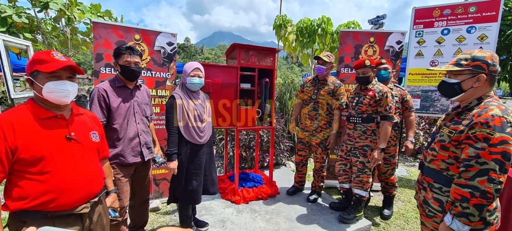 JBPM Sabah pasang LiSA di tiga lokasi termasuk Polumpung Melangkap