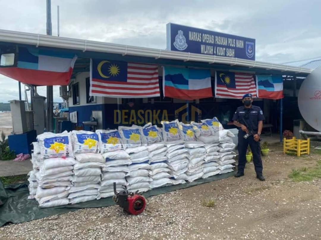 Pam bot bawa muatan 1.8 tan tepung gandum digagalkan