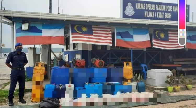 Lari lintang pukang tinggalkan barang kawalan bernilai RM17,658
