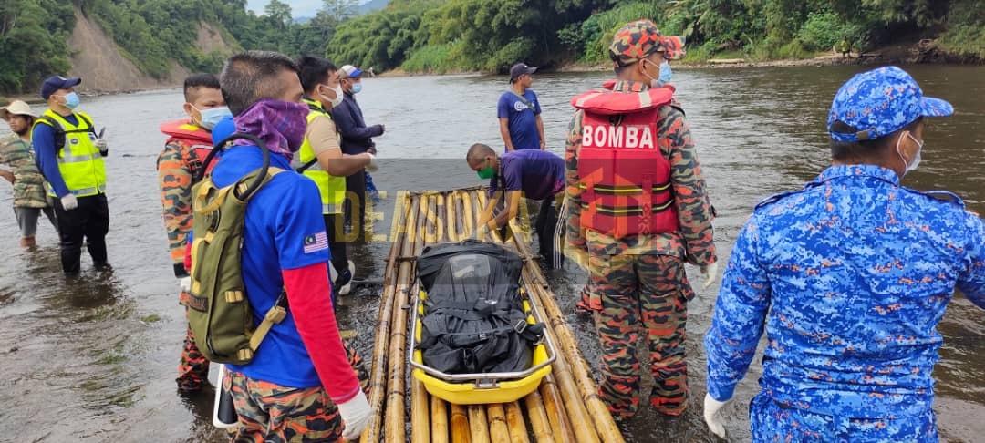 Lelaki hilang di Sungai Padas, ditemui meninggal dunia