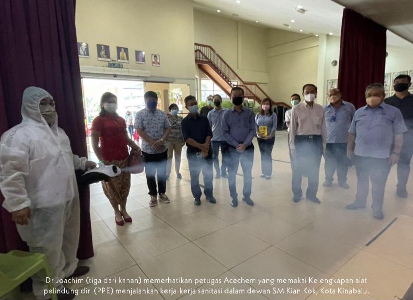 Program sanitasi sekolah sekitar Kota Kinabalu dilancar