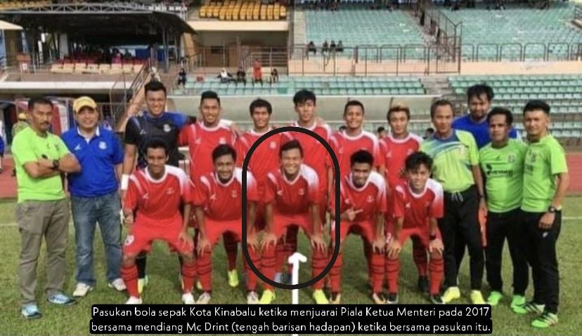 Pasukan bola sepak Kota Kinabalu kehilangan pemain berbakat