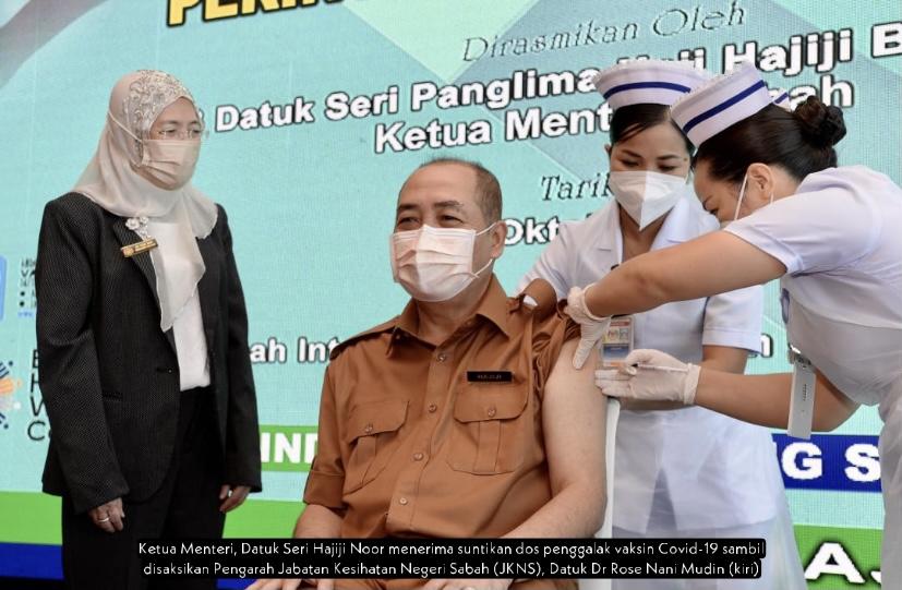 Lebih 250,000 individu layak terima dos penggalak di Sabah